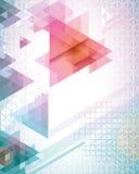 Φουτουριστικά τρίγωνα Στοκ φωτογραφία με δικαίωμα ελεύθερης χρήσης