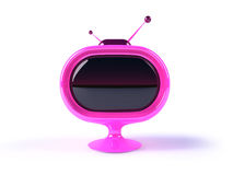 φουτουριστική αναδρομική TV Στοκ εικόνες με δικαίωμα ελεύθερης χρήσης