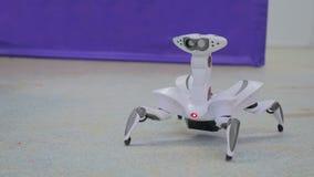 Φουτουριστική αράχνη ρομπότ Στοκ εικόνες με δικαίωμα ελεύθερης χρήσης