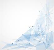 Φουτουριστική επιχείρηση τεχνολογίας υπολογιστών Διαδικτύου Στοκ Εικόνες