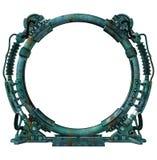 φουτουριστική πύλη Στοκ Εικόνες