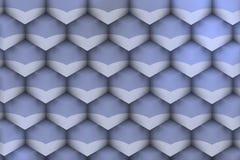 Φουτουριστική σύσταση με τις μαλακές ιώδεις σκιές Στοκ φωτογραφία με δικαίωμα ελεύθερης χρήσης