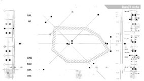 Φουτουριστική ψηφιακή διεπαφή διανυσματική απεικόνιση