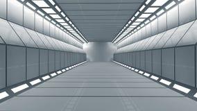 Φουτουριστικός διάδρομος Στοκ Εικόνα