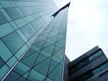 φουτουριστικός ουρανοξύστης Στοκ Εικόνα