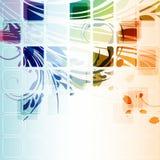 φουτουριστικός πολύχρ&omega ελεύθερη απεικόνιση δικαιώματος
