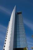 Φουτουριστικός πύργος γραφείων της Φρανκφούρτης Στοκ εικόνες με δικαίωμα ελεύθερης χρήσης