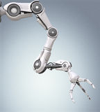 Φουτουριστικός ρομποτικός βραχίονας απεικόνιση αποθεμάτων
