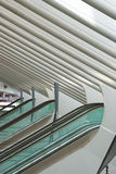 Φουτουριστικός σιδηροδρομικός σταθμός Λιέγη-Guillemins Στοκ Φωτογραφία