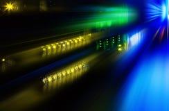 Φουτουριστικός υπερυπολογιστής φωτογραφιών στο κέντρο δεδομένων Στοκ φωτογραφία με δικαίωμα ελεύθερης χρήσης