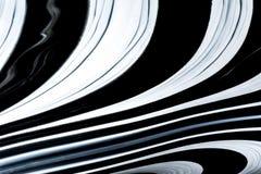 Φουτουριστικό αφηρημένο υπόβαθρο των όμορφων γεωμετρικών γραμμών σε γραπτό στοκ φωτογραφίες με δικαίωμα ελεύθερης χρήσης