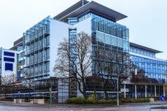 φουτουριστικό γραφείο Στοκ εικόνες με δικαίωμα ελεύθερης χρήσης