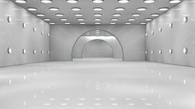 Φουτουριστικό εσωτερικό Στοκ Φωτογραφίες