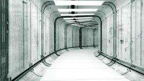 φουτουριστικό εσωτερικό Στοκ εικόνα με δικαίωμα ελεύθερης χρήσης