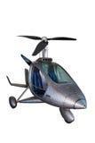 Φουτουριστικό ελικόπτερο Στοκ φωτογραφία με δικαίωμα ελεύθερης χρήσης