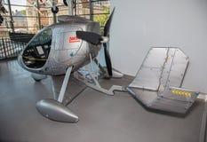 Φουτουριστικό ελικόπτερο Στοκ εικόνα με δικαίωμα ελεύθερης χρήσης