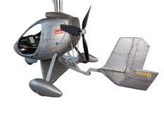 Φουτουριστικό ελικόπτερο Στοκ εικόνες με δικαίωμα ελεύθερης χρήσης
