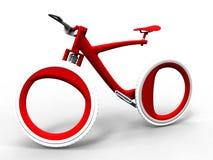 Φουτουριστικό ποδήλατο ελεύθερη απεικόνιση δικαιώματος