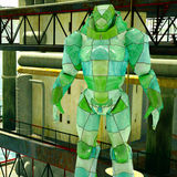 Φουτουριστικό ρομπότ Στοκ εικόνες με δικαίωμα ελεύθερης χρήσης