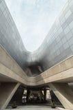 Φουτουριστικό σχέδιο Plaza Dongdaemun στη Σεούλ Στοκ φωτογραφία με δικαίωμα ελεύθερης χρήσης