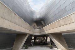 Φουτουριστικό σχέδιο Plaza Dongdaemun στη Σεούλ Στοκ φωτογραφίες με δικαίωμα ελεύθερης χρήσης