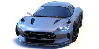 Φουτουριστικό τρισδιάστατο αυτοκίνητο έννοιας Στοκ φωτογραφία με δικαίωμα ελεύθερης χρήσης
