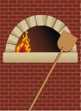 φούρνος καυσόξυλου Στοκ Εικόνα