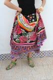 φούστα ισπανικά Στοκ εικόνες με δικαίωμα ελεύθερης χρήσης