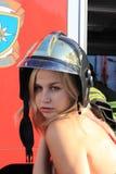 φούστα πυρκαγιάς Στοκ Εικόνες
