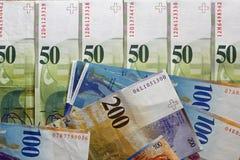 φράγκα Ελβετός Στοκ Εικόνες