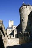φράγκο πόλεων του Carcassonne παλαιό στοκ εικόνες με δικαίωμα ελεύθερης χρήσης