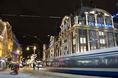 Φράγμα Άμστερνταμ Κάτω Χώρες Στοκ εικόνα με δικαίωμα ελεύθερης χρήσης
