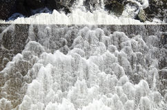 Φράγμα αφρού νερού Στοκ Εικόνες