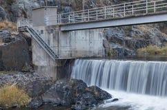 Φράγμα παρεκτροπής ποταμών Στοκ Φωτογραφία