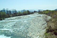 Φράγμα ποταμών στην Ιαπωνία Στοκ εικόνα με δικαίωμα ελεύθερης χρήσης