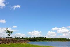 Φράγμα ποταμών στοκ φωτογραφία