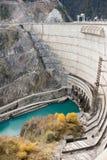 φράγμα υδροηλεκτρικό Στοκ Φωτογραφίες