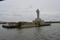 Φράγμα Hyderabad Ινδός δεξαμενών Στοκ φωτογραφία με δικαίωμα ελεύθερης χρήσης