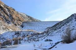 Φράγμα Mattmark Κοιλάδα Saas, Valais, οι Άλπεις, Ελβετία Στοκ φωτογραφίες με δικαίωμα ελεύθερης χρήσης