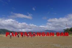 Φράγμα Pantabangan Στοκ φωτογραφία με δικαίωμα ελεύθερης χρήσης
