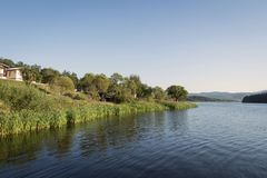 Φράγμα Pchelina, Βουλγαρία Στοκ εικόνες με δικαίωμα ελεύθερης χρήσης