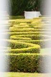 Φράκτες πάρκων χώρας Chatelherault στοκ φωτογραφία