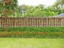 Φράκτης κήπων της Zen Στοκ Εικόνες