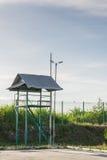 Φράκτης και πύργος Στοκ φωτογραφία με δικαίωμα ελεύθερης χρήσης