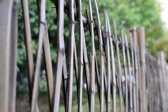 Φράκτης μπαμπού Στοκ φωτογραφία με δικαίωμα ελεύθερης χρήσης