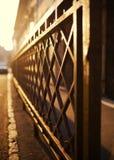 Φράκτης σιδήρου Στοκ εικόνα με δικαίωμα ελεύθερης χρήσης