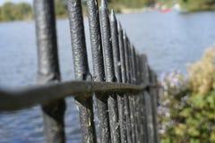 Φράκτης στενό σε επάνω Στοκ φωτογραφία με δικαίωμα ελεύθερης χρήσης