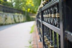 Φράκτης στον κήπο στοκ φωτογραφία
