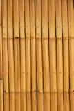Φράκτης σύστασης μπαμπού Στοκ Εικόνα