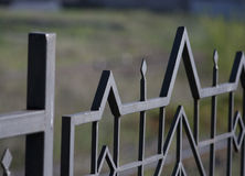 Φράκτης χάλυβα Στοκ φωτογραφία με δικαίωμα ελεύθερης χρήσης